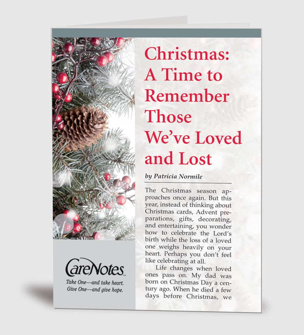 christmas a time to remember those weve loved and lost