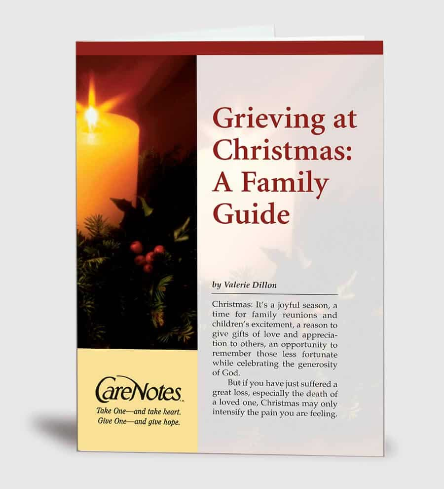grieving at christmas a family guide
